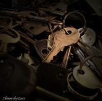 Old Keys - ShironekoEuro (via Flickr)