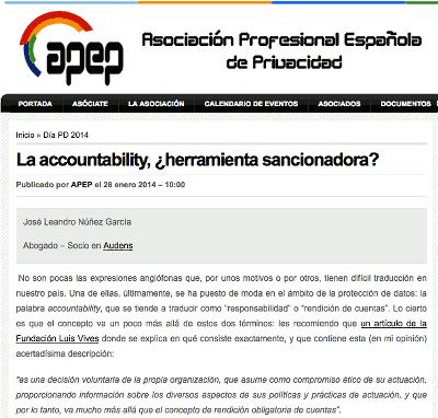La accountability, ¿herramienta sancionadora?