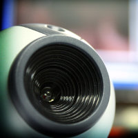 Webcam, por David Burillo (via Flickr)