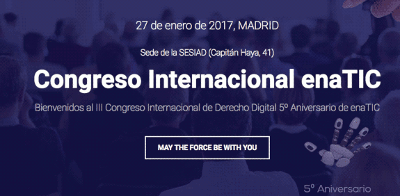III Congreso Internacional de Derecho Digital Enatic