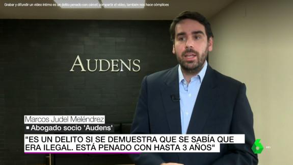 Declaraciones a laSexta de Marcos Judel.