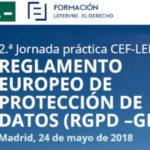 2ª Jornada práctica sobre el RGPD