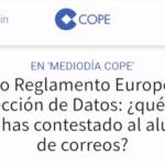 Cope: Nuevo Reglamento Europeo de Protección de Datos