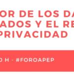 El valor de los datos agregados y el respeto de la privacidad